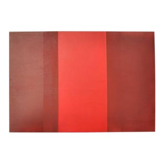 """Late 20th Century """"Shwindle"""" Contemporary Minimalist Acrylic Painting For Sale"""