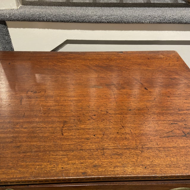 19th Century Hepplewhite Mahogany Chest of Drawers For Sale - Image 11 of 13