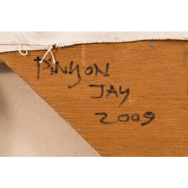 "Blue William Eckhardt Kohler, ""Pinyon Jay"" For Sale - Image 8 of 10"