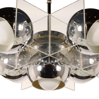 1960s Space Age Mid Century Modern Chandelier Preview