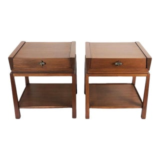 Rare Edmund Spence Nightstands - a Pair For Sale