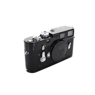 Leica M3 Black 1959 Professional Rangefinder Camera-Near Mint For Sale
