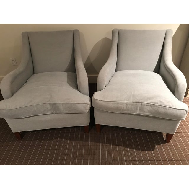 Reupholstered Art Deco Armchairs - A Pair - Image 3 of 6