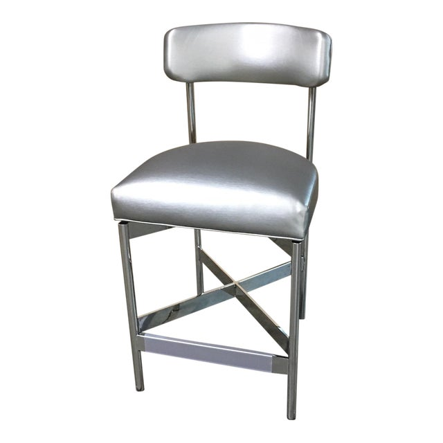 Mitchell Gold + Bob Williams Modern Remy Counter Side Stool For Sale