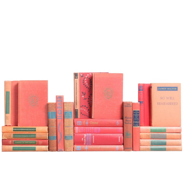Accented Red Classics Book Collection - Set of 22 - Image 1 of 2