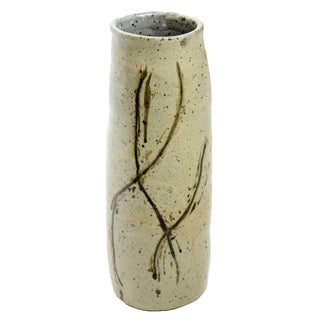 Green Studio Pottery Vase