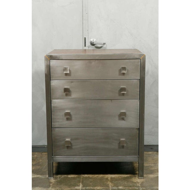 Mid-Century Metal Chest of Drawers - Image 2 of 8