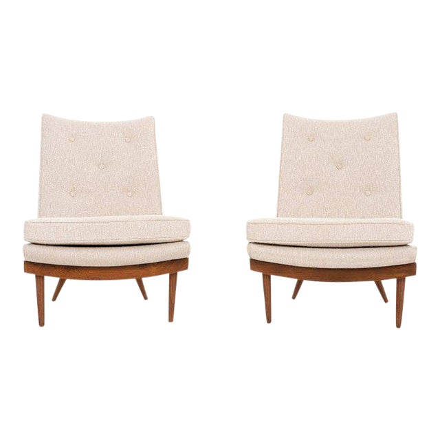 George Nakashima Pair of Chairs For Sale