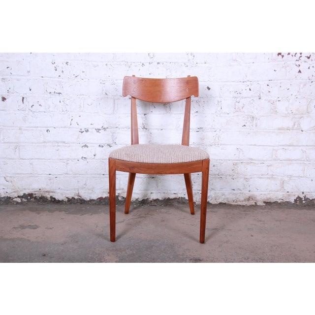Kipp Stewart for Drexel Declaration Mid-Century Modern Walnut Desk and Chair For Sale - Image 12 of 13