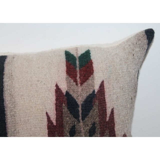 Native American Style Serape Pillows - A Pair For Sale - Image 4 of 10