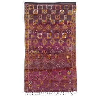 Small Beni Mguild Moroccan Berber Rug For Sale