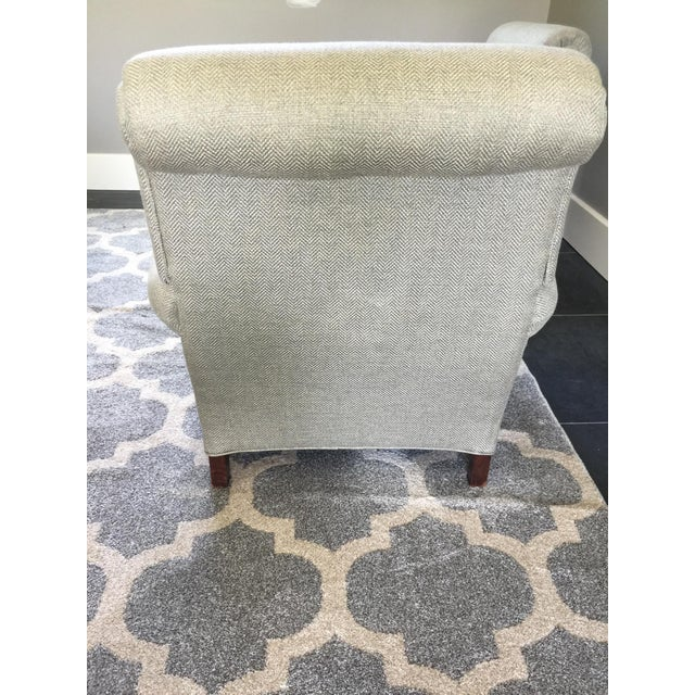 French Club Chairs - a Pair For Sale - Image 6 of 12
