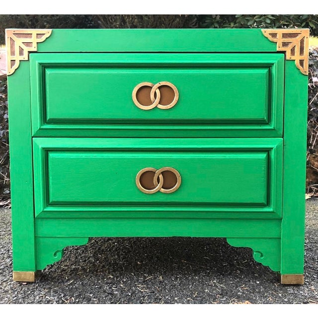 Huntley by Thomasville Asian Inspired Nightstand For Sale - Image 9 of 9