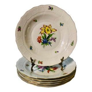 Herend Printemps Soup Bowls - Set of 6 For Sale