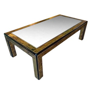 Mid Century Bernard Rohne Mastercraft Coffee Table For Sale