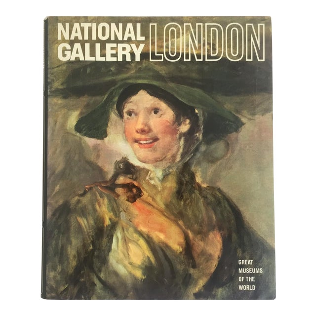 """ National Gallery London "" Vintage 1969 Rare Collector Hardcover Art Book For Sale"