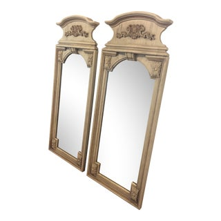 1970s Hollywood Regency Thomasville Mirrors - a Pair