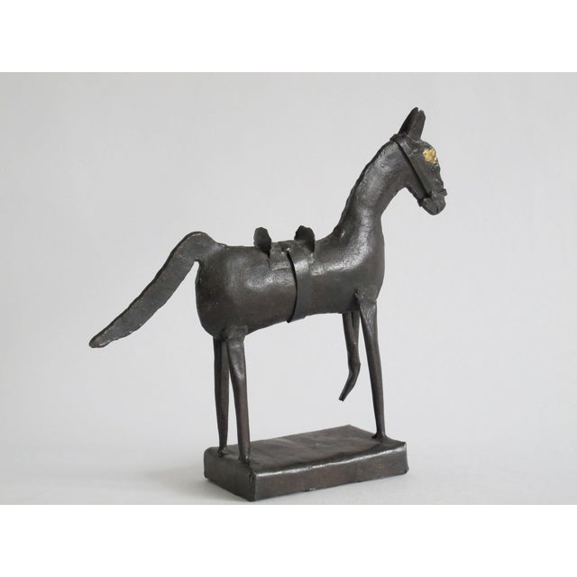 Brutalist Brutalist Horse Sculpture For Sale - Image 3 of 5