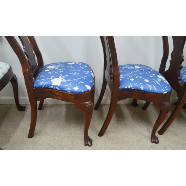 Councill Set of 6 Mahogany Dining Chairs For Sale - Image 10 of 13