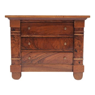 Miniature French Provincial Empire Commode For Sale