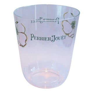 Vintage Perrier Jouët Champagne Wine French Bucket Chiller