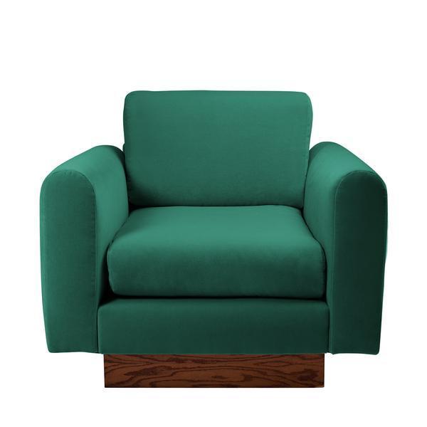 Harvey Probber Lavender Velvet Club Chairs - Pair - Image 9 of 10