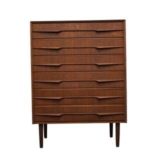 "Danish Mid Century Teak Dresser - ""Qernertoq"" For Sale"