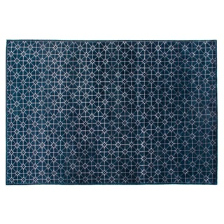 Stark Studio Rugs Contemporary New Oriental Wool Rug - 8′ × 9′10″ For Sale