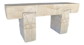 Image of Egyptian Revival Console Tables