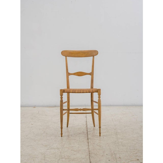 Arts & Crafts Italian Campanino Chair by Chiavari Giuseppe Gaetano Descalzi, 1807 For Sale - Image 3 of 10