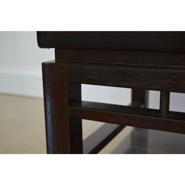 Mid-Century Modern Edward Wormley for Dunbar Benches - a Pair For Sale - Image 10 of 12