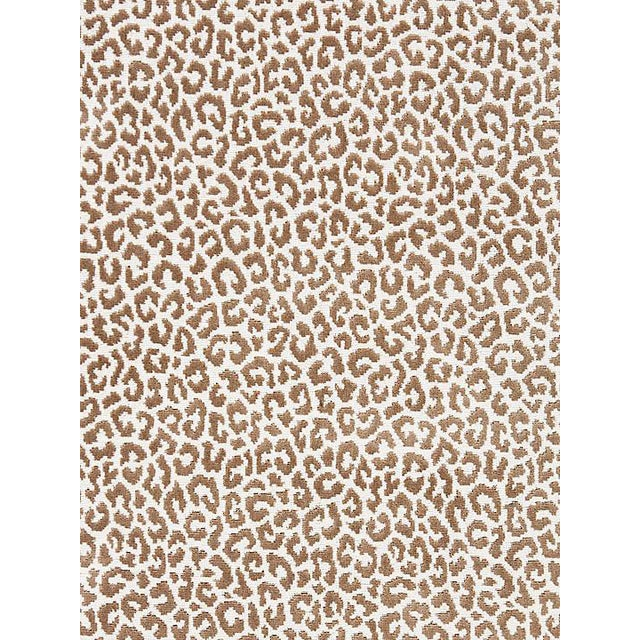 Scalamandre Panthera Velvet, Sable Fabric For Sale