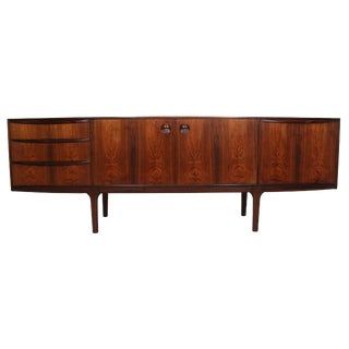 Mid Century Rosewood Credenza by McIntosh