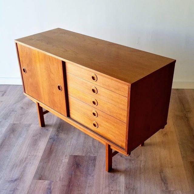 Vintage Folke Ohlsson for Dux Style Teak Credenza For Sale - Image 13 of 13