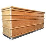 Image of Mid 20th Century Jay Spectre Oak Dresser For Sale