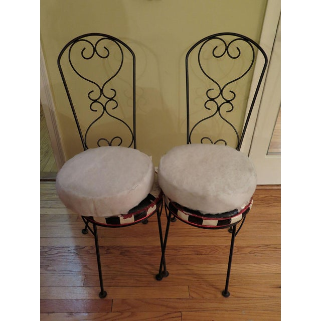 Salterini Style Bistro Chair Frames - A Pair - Image 3 of 3