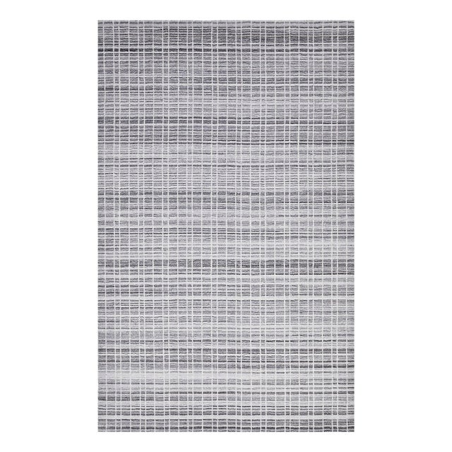 Finley, Contemporary Modern Loom Knotted Area Rug, Pewter, 12 X 15 For Sale - Image 9 of 9