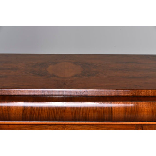 French Art Deco Walnut Sideboard For Sale - Image 4 of 13