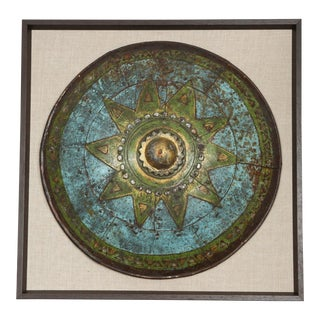 Early 20th Century Single Framed Decorative Shield From London Playhouse For Sale