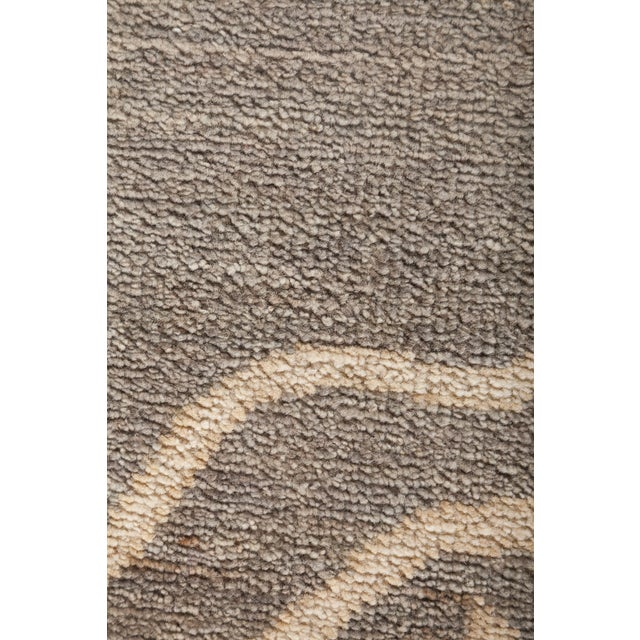 "Oushak Hand Knotted Area Rug - 11' 10"" X 14' 7"" - Image 3 of 4"