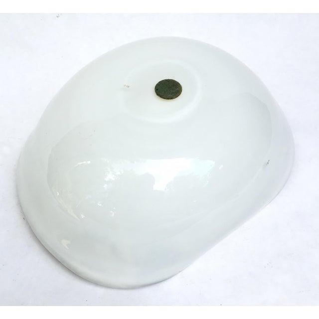 White Vintage A.Ve.M. Multicolored Millefiori Venetian Bowl For Sale - Image 8 of 9