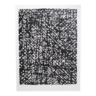Paper Fiber Black and White Wall Art For Sale