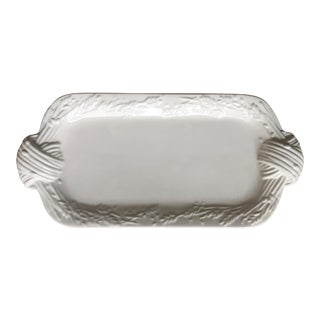"Portuguese Majolica Serving Platter-15"" For Sale"