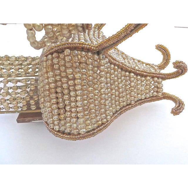 """Maison Baguès Beaded Venetian """"Maison Bagues"""" Style Large Sconces - A Pair For Sale - Image 4 of 8"""