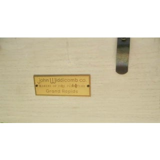 1960s French Country John Widdicomb Off White King Size Headboard Preview