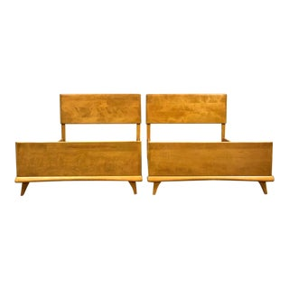 Heywood Wakefield Twin Beds - a Pair For Sale