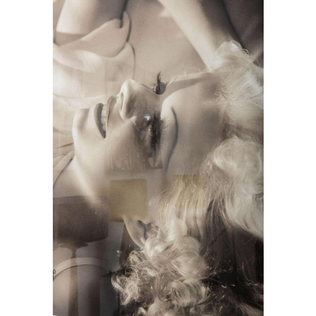 Framed Archival Pigment Print of Jean Harlow: George Hurrell, 1936 - Image 2 of 8