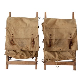 1950s Boy Scout Yucca Packs - Set of 2