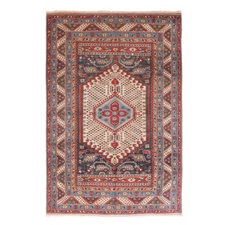 """1930's Vintage Shirvan Russian Rug-6'2"""" X 9'5"""" For Sale"""