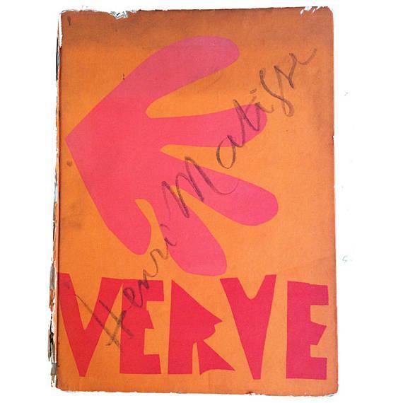 "Henri Matisse Henri Matisse ""Decoration Masques"" Lithograph For Sale - Image 4 of 5"